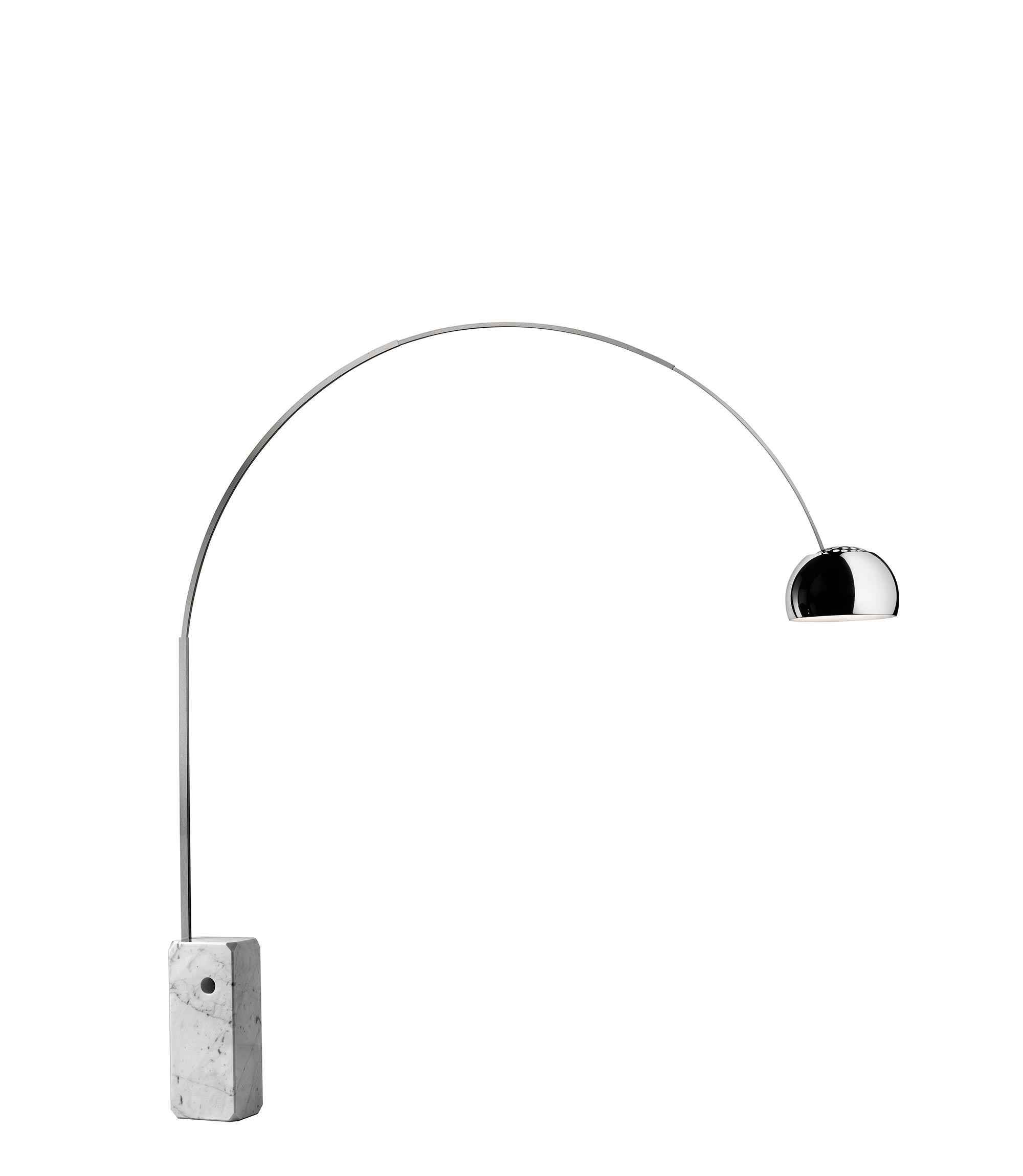Arco led floor castiglioni flos F0303000 product still life big