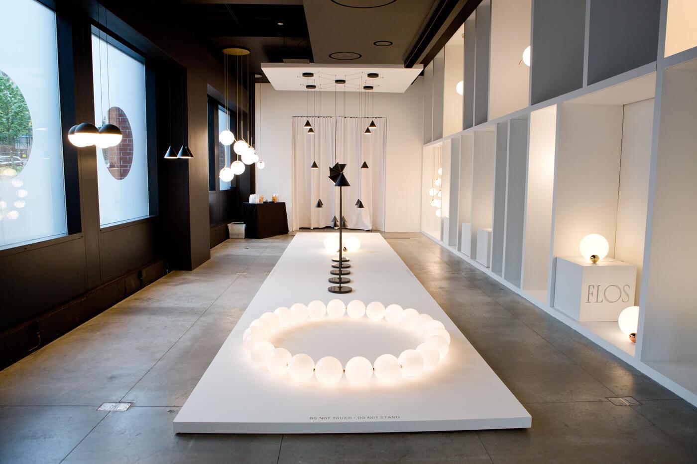 Anastiades For Flos At Soho Showroom