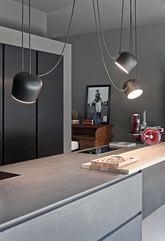 aim lamp suspension flos. Black Bedroom Furniture Sets. Home Design Ideas