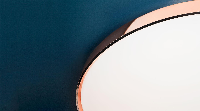 Flos Plafoniera Led : Clara wall ceiling flos