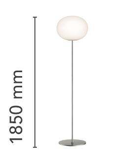 Glo Ball Floor 3 Lamp Floor Flos