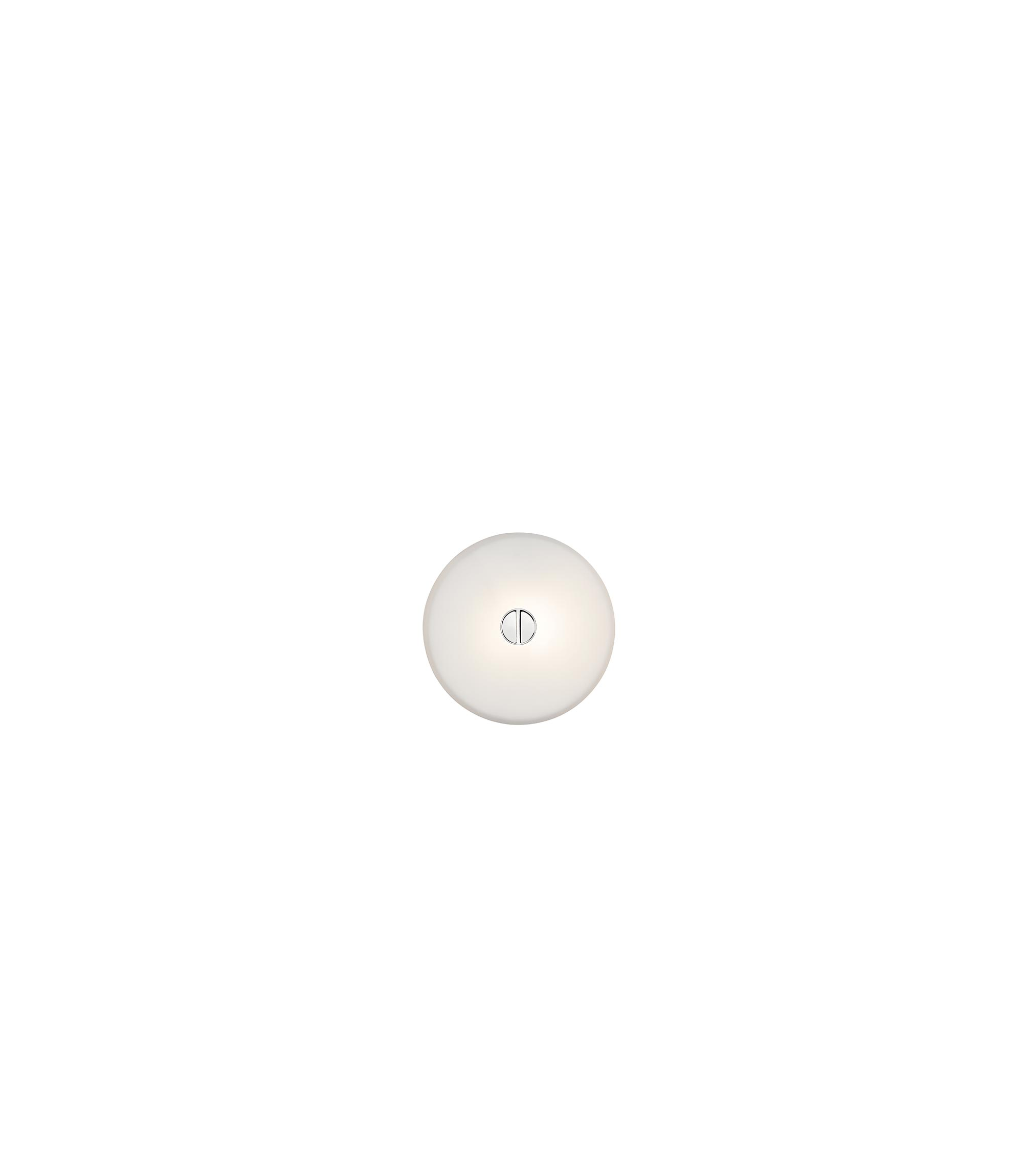 Mini button ceiling wall lissoni flos F1490009 product still life big 1