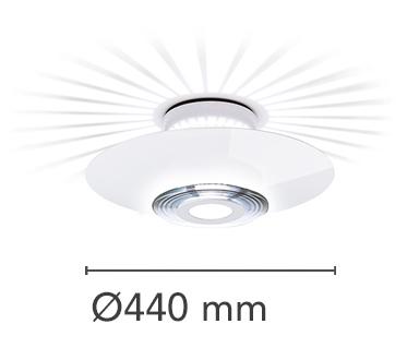 Moni 1 Lamp Wall Ceiling Flos