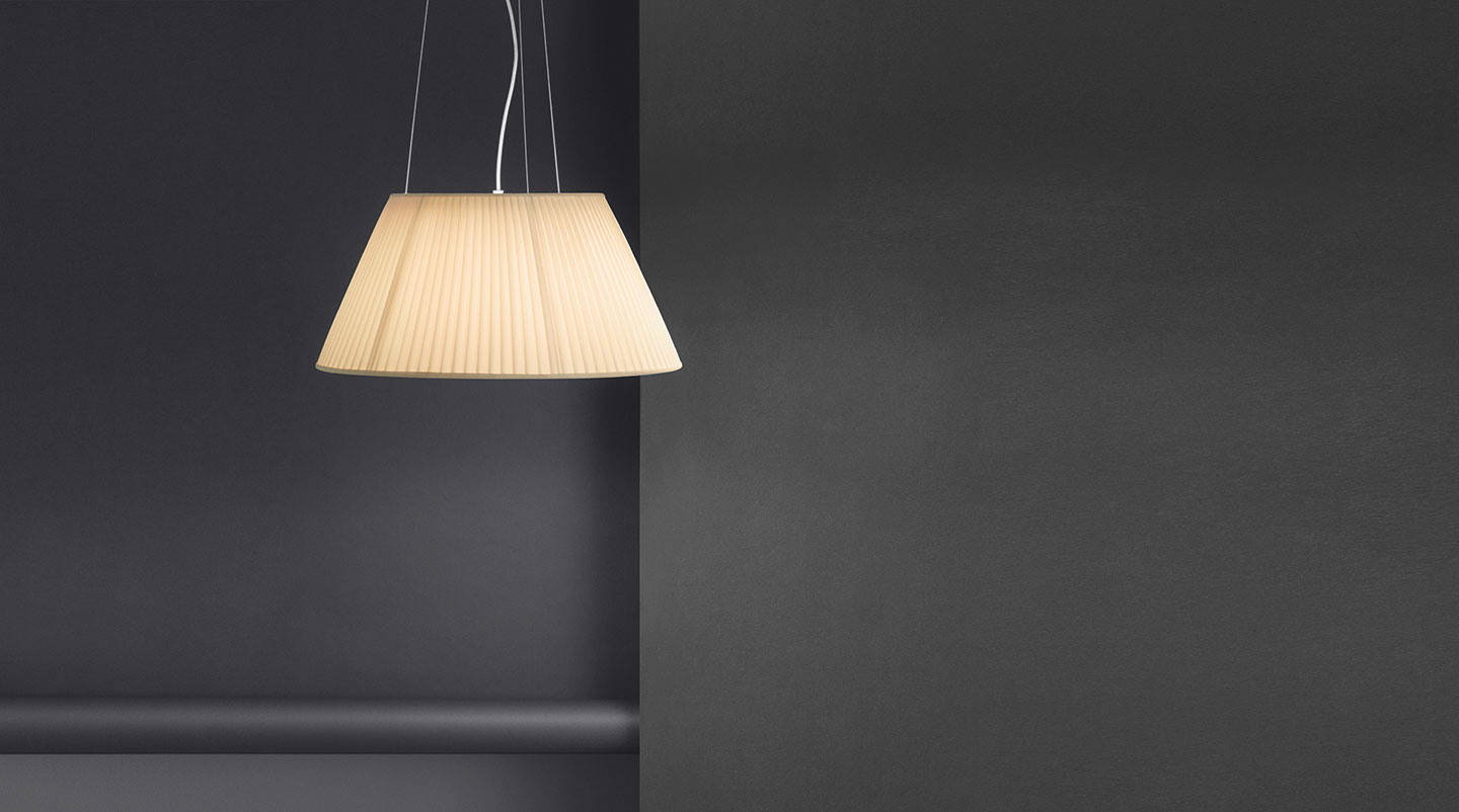 F discover the flos suspended lamp model romeo soft s