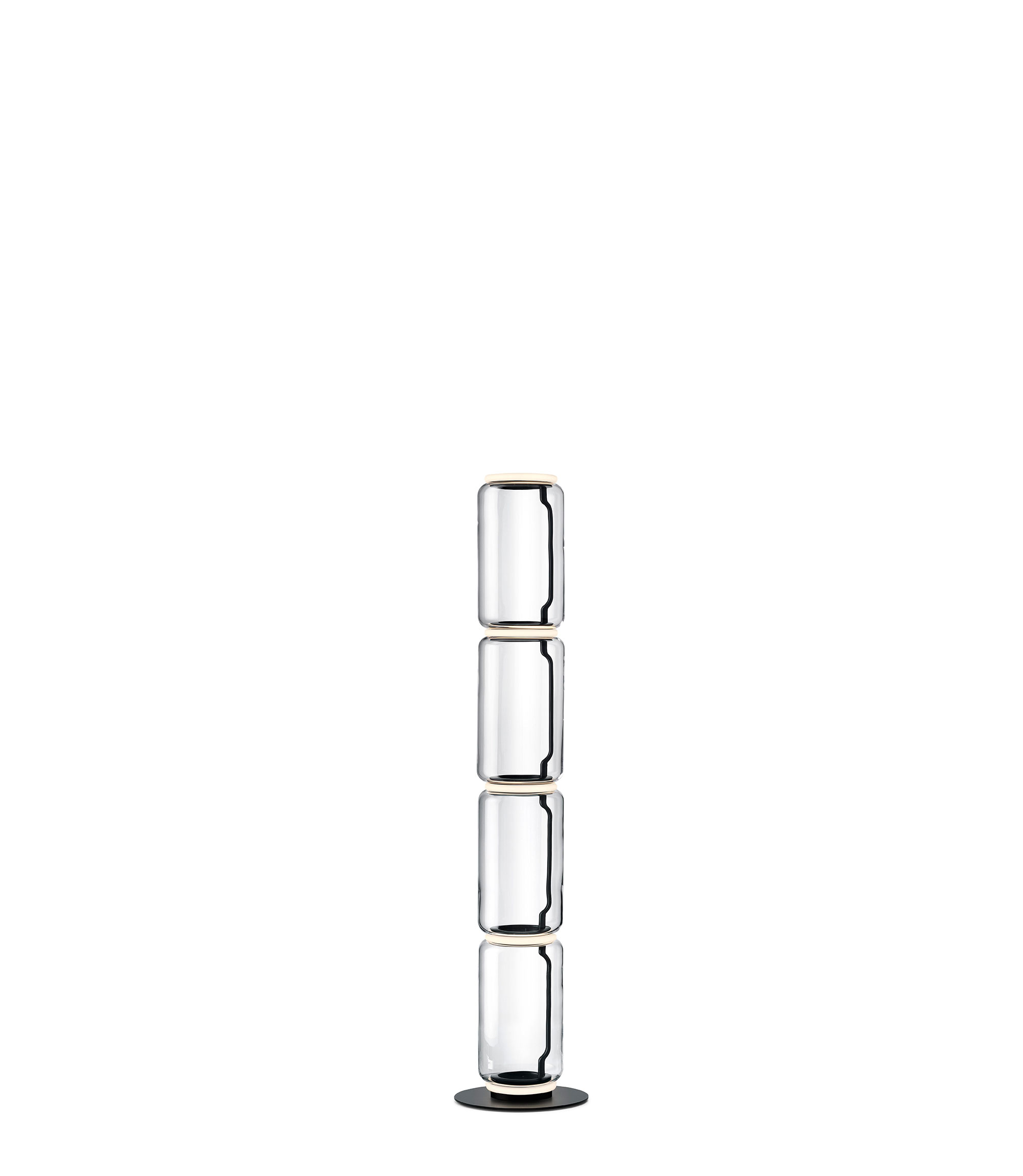 Noctambule floor 4 low cylinders small base grcic flos F0291000 product still life big