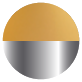 Brushed Aluminium/Gold